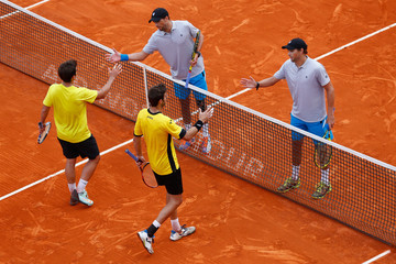 Marcel Granollers Marc Lopez ATP Masters Series: Monte Carlo Rolex Masters - Day Six