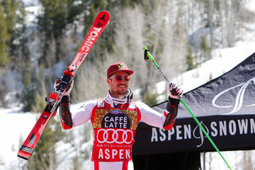 Marcel Hirscher Audi FIS Alpine Ski World Cup - Men's Giant Slalom and Women's Slalom
