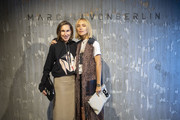 Annette Weber and Victoria Rader attend the Marcell von Berlin Pop Up Store Opening Party, Goethestrasse, on November 1, 2018 in Frankfurt am Main, Germany.