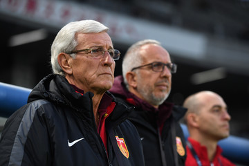 Marcello Lippi China v North Korea - EAFF E-1 Men's Football Championship