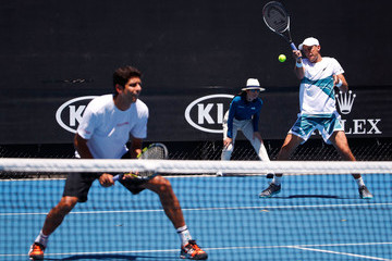 Marcelo Melo 2018 Australian Open - Day 4