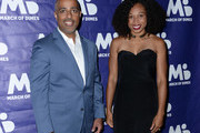 Rajan Mehta and Allyson Felix attend March of Dimes Get S.E.T. Los Angeles at The Novo Theater at L.A. Live on June 27, 2019 in Los Angeles, California.
