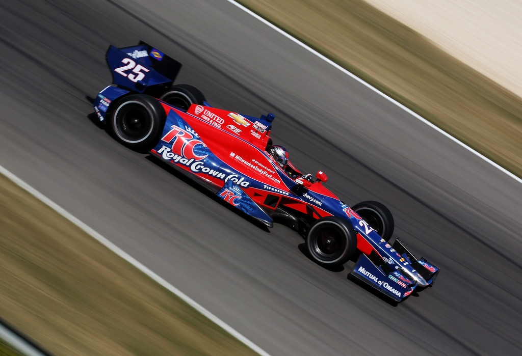 Marco Andretti - Honda Indy Grand Prix of Alabama - Day 3
