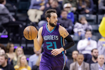 Marco Belinelli Charlotte Hornets v Indiana Pacers