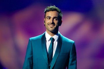 Marco Mengoni Dress Rehearsals at the Eurovision Song Contest