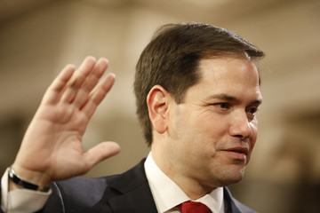 Marco Rubio The Vice President Swears in Members of the 115th Congress