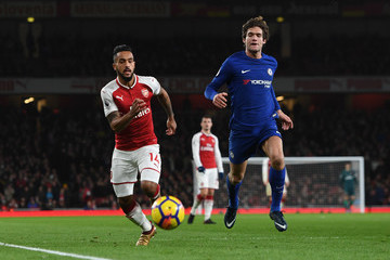 Marcus Alonso Arsenal v Chelsea - Premier League