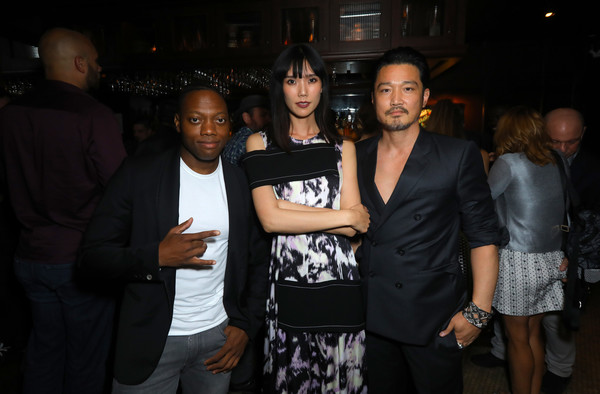 Premiere Of Breaking Glass Pictures' 'She's Just A Shadow' - After Party [shes just a shadow,breaking glass pictures,event,fashion,party,fashion design,night,performance,actors,kentez asaka,tao okamoto,marcus johnson,l-r,party,premiere,premiere]