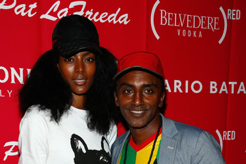 Marcus Samuelsson Maya Haile The Launch Oof EAT (RED). DRINK (RED). SAVE LIVES.