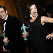 Margaret Colin 24th Annual Screen Actors Guild Awards - Backstage