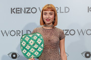 Miranda Makaroff attends the 'Kenzo summer party' photocall at Royal Theatre  on September 6, 2017 in Madrid, Spain.