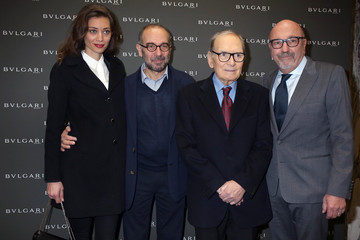 Margareth Made Golden Globes Ceremony Honoring Ennio Morricone Hosted by BVLGARI