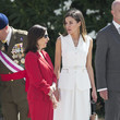 Margarita Robles Spanish Royals Deliver The Real Offices In The Central Academy Of The Defense