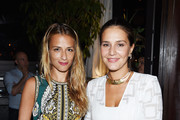 Charlotte Ronson (L) and Margherita Missoni attend the debut of Margherita Missoni and Peroni Nastro Azzurro's Fall fashion collaboration during New York Fashion Week on September 8, 2015 in New York City.