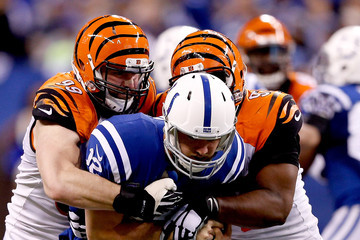 Margus Hunt Wild Card Playoffs - Cincinnati Bengals v Indianapolis Colts