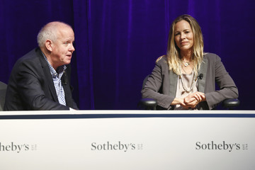 Maria Bello The Art of VR at Sotheby's - Day 1