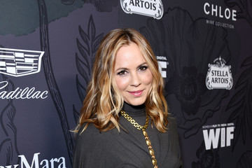 Maria Bello 12th Annual Women In Film Oscar Nominees Party Presented By Max Mara With Additional Support From Chloe Wine Collection, Stella Artois And Cadillac - Red Carpet
