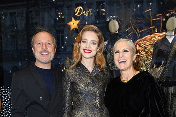 Maria Grazia Chiuri Christian Dior Celebrates 70 Years of Creation at the Galeries Lafayette Haussmann in Paris