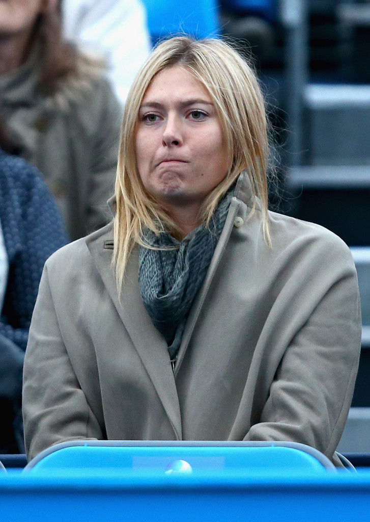 Maria Sharapova - AEGON Championships: Day One