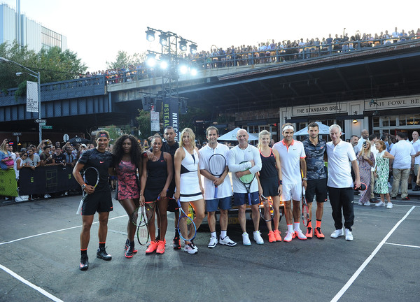 Nike's 'NYC Street Tennis' Event
