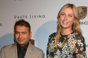 Maria Sharapova Haute Living Cover Release Party With Tennis Sensation Maria Sharapova