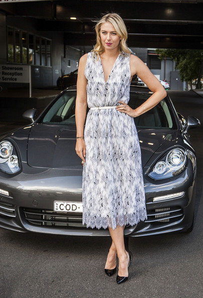 Maria Sharapova - Maria Sharapova Celebrates Women with Drive