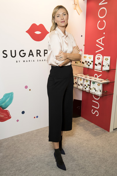 Maria Sharapova Celebrates Chocolate Line Expansion at ISM 2017