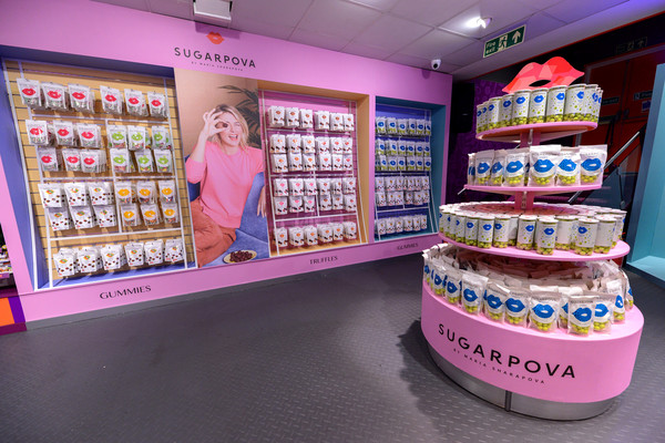 Maria Sharapova Launches Sugarpova At Kingdom Of Sweets