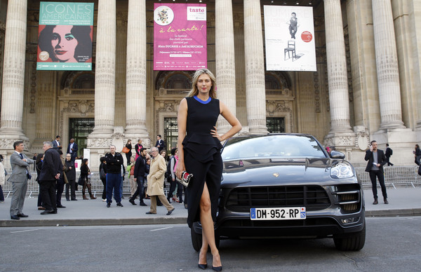 Porsche Brand Ambassador Maria Sharapova at the 'Taste of Paris' Event In Paris