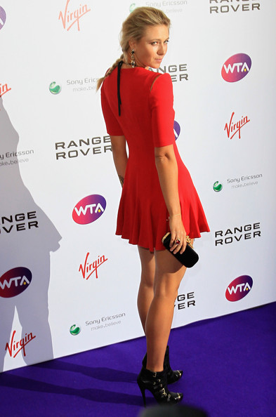 Maria Sharapova Maria Sharapova attends the pre-wimbledon party at The Roof Gardens on June 16, 2011 in London, England.