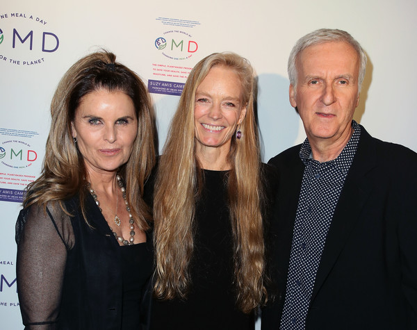 James Cameron Hosts Book Launch Party For Suzy Amis's New Book 'OMD'