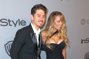 Mariah Carey The 2018 InStyle and Warner Bros. 75th Annual Golden Globe Awards Post-Party - Red Carpet