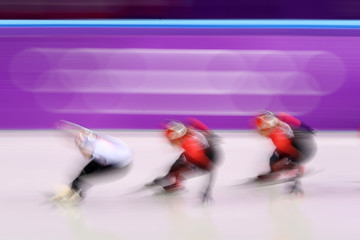 Marianne St-Gelais Short Track Speed Skating - Winter Olympics Day 8