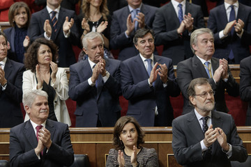 Mariano Rajoy Spanish Royals Attend the 12th Legislative Sessions Opening
