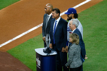 Mariano Rivera World Series - Los Angeles Dodgers v Houston Astros - Game Four