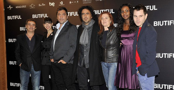 Javier Bardem Attends 'Biutiful' Photocall in Madrid