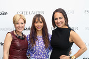 VP, Publisher, Marie Claire Nancy Cardone, Rashida Jones and Marie Claire's Editor-in-Chief Anne Fulenwider attend Marie Claire's Second-Annual New Guard Lunch at Hearst Tower on October 30, 2014 in New York City.