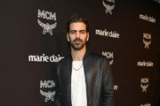 Nyle DiMarco is seen as Marie Claire honors Hollywood's Change Makers on March 12, 2019 in Los Angeles, California.