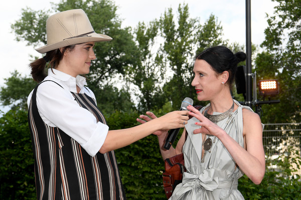 GrowHouses Reception - Berlin Fashion Week Spring/Summer 2020 [botany,photography,plant,gesture,fashion accessory,isabel vollrath,marie nasemann,l-r,ewerk,berlin,germany,growhouses reception,berlin fashion week,berlin fashion week spring]