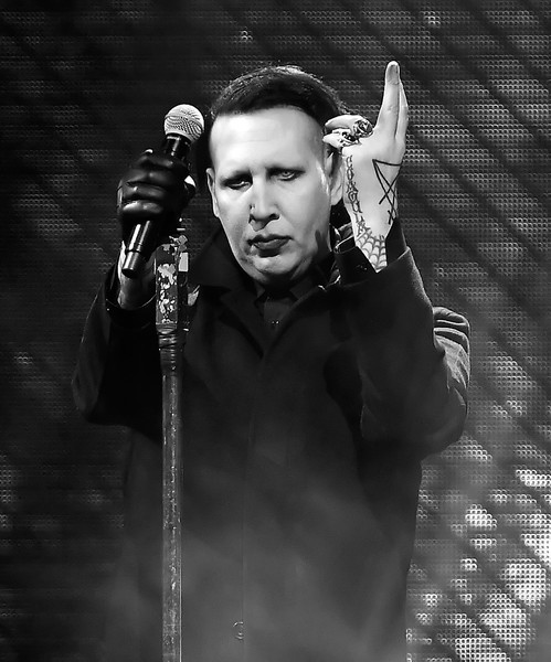 Marilyn Manson Photos 2018 Coachella Valley Music And Arts