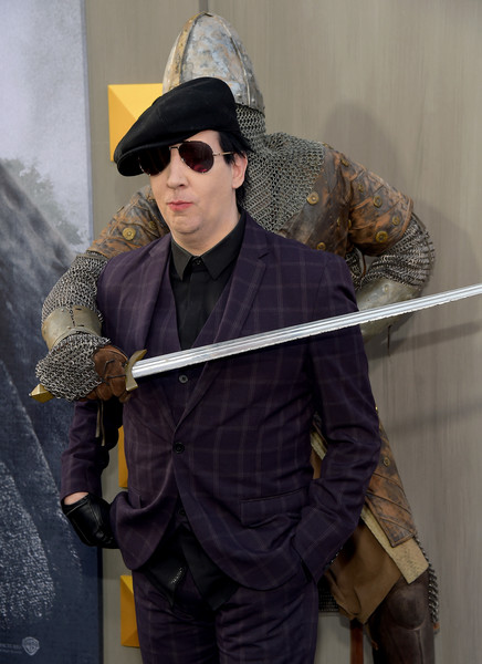 Marilyn Manson Photos Premiere Of Warner Bros Pictures King
