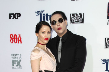 """Marilyn Manson Premiere Screening Of FX's """"Sons Of Anarchy"""" - Arrivals"""
