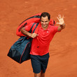 Marin Cilic 2021 French Open - Day Five