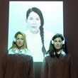 """Christine Kaculis Marina Abramovic The Artist Is Present """"Silence Is Golden Event"""" - 2012 Park City"""