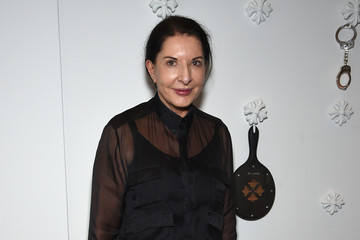 Marina Abramovic Chrome Hearts Celebrates The Miami Project During Art Basel With Zoe Kravitz