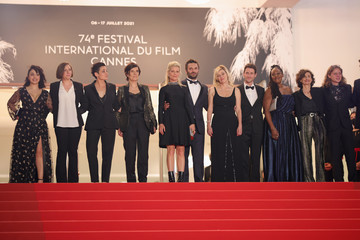 """Marina Fois """"La Fracture (The Divide)"""" Red Carpet - The 74th Annual Cannes Film Festival"""