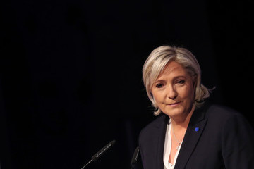Marine Le Pen European Right-Wing Parties Hold Conference In Koblenz