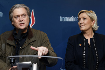 Marine Le Pen National Congress Of The Front National - Day One
