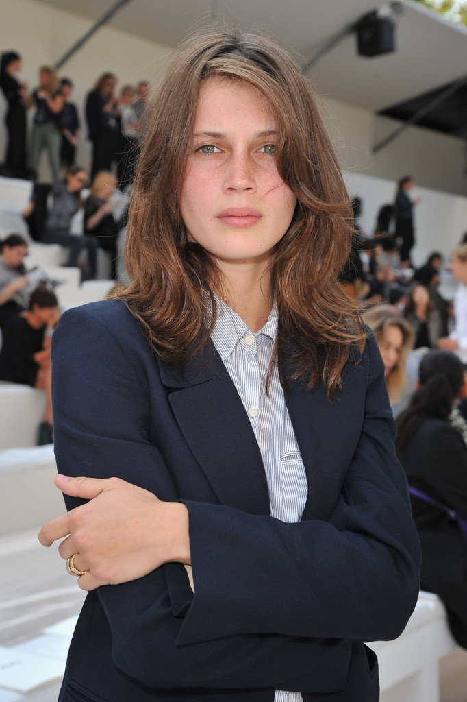 Marine Vacth - Chloe: Front Row - Paris Fashion Week Womenswear Spring / Summer 2013