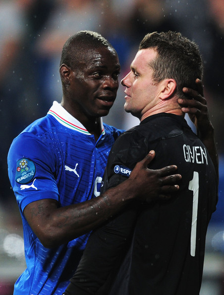 Mario Balotelli - UEFA EURO 2012 - Matchday 11 - Pictures Of The Day